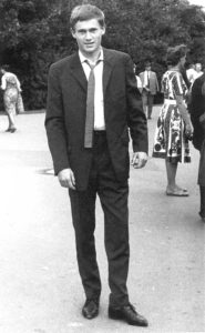 Horst Köhler as a student (photo: private)